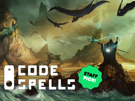 Update 2: Creative Mode Funded! + Additional Backer Rewards: Programmable Staffs · CodeSpells: Express Yourself With Magic