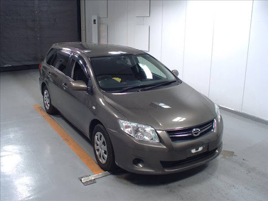 2009 Toyota corolla fielder in Bronze | 58477 | Japanese Car Auction Expert