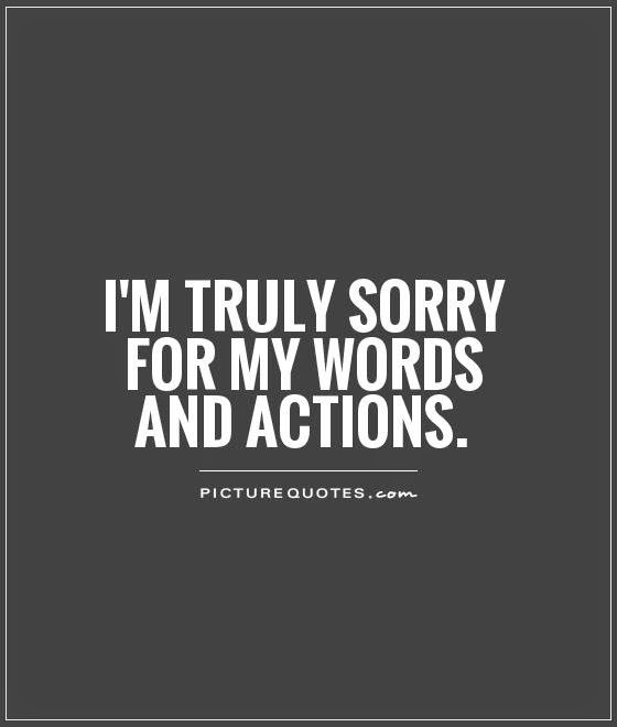 Quotes About Sorry English 26 Quotes