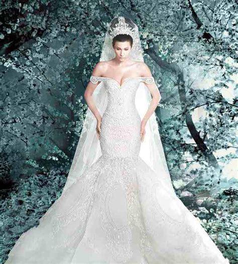 Classic Retro Best Design Mermaid Wedding Dresses Lace