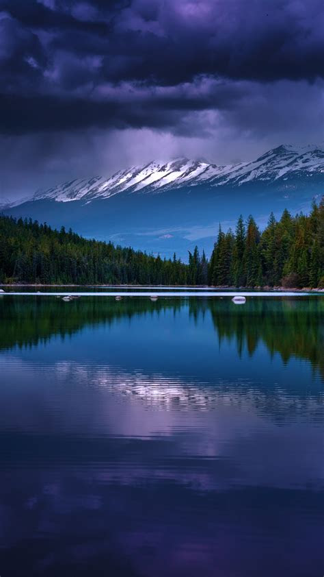 wallpaper mountains   wallpaper river pines trees clouds os