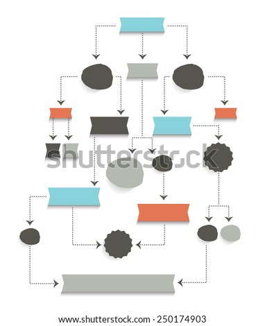 Flow Chart Elements Stock Photos, Royalty-Free Images & Vectors ...