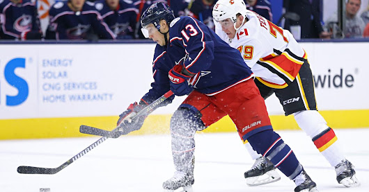 Quick Takes: Blue Jackets Host Flames in Thriller