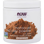 Now Foods Moroccan Red Clay Powder 6 oz