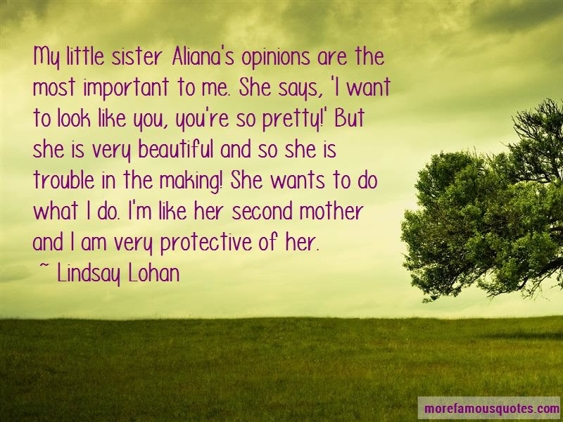 Protective Sister Quotes Top 9 Quotes About Protective Sister From