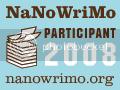 Official NaNoWriMo 2008 Participant