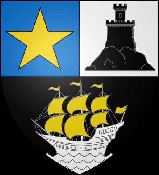 File:Blason ville fr Rochefort (Charente-Maritime).svg