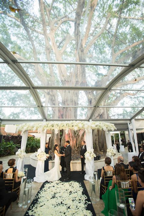 Wedding at Fisher Island Club Miami by Chris Weinberg Events