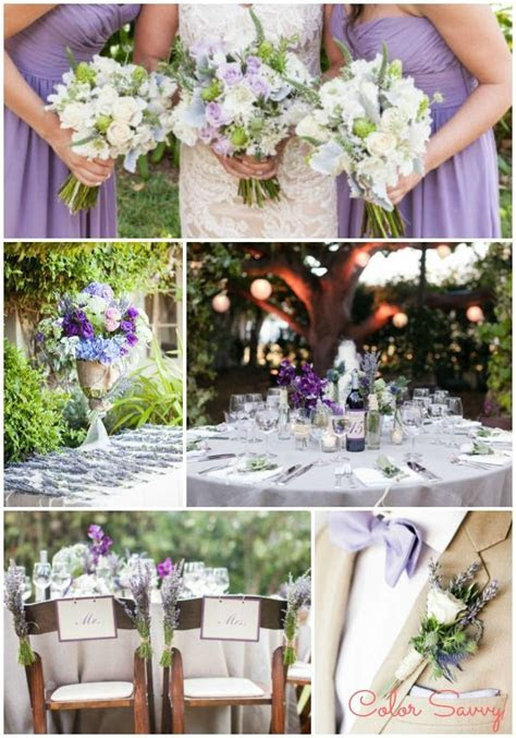 Color Inspiration: Lavender   Green Wedding   EVENTS