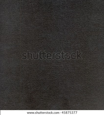 stock photo : black leather