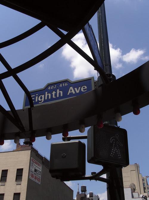 little man on Eighth Avenue