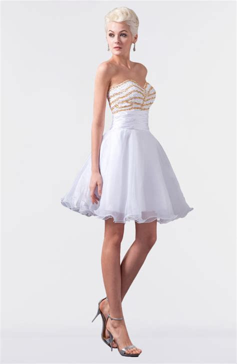 ColsBM Maci White Bridesmaid Dresses   ColorsBridesmaid