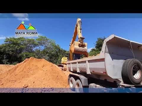 Com trabalho de Alta qualidade Prefeitura de Mata Roma já recuperou dezenas de quilômetros de estradas vicinais e recuperou ruas da cidade.