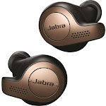 Jabra - Elite 65t True Wireless Earbud Headphones - Copper Black
