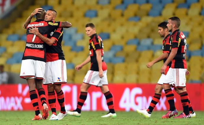 Paulinho, Flamengo x Brasil de Pelotas (Foto: André Durão / Globoesporte.com)