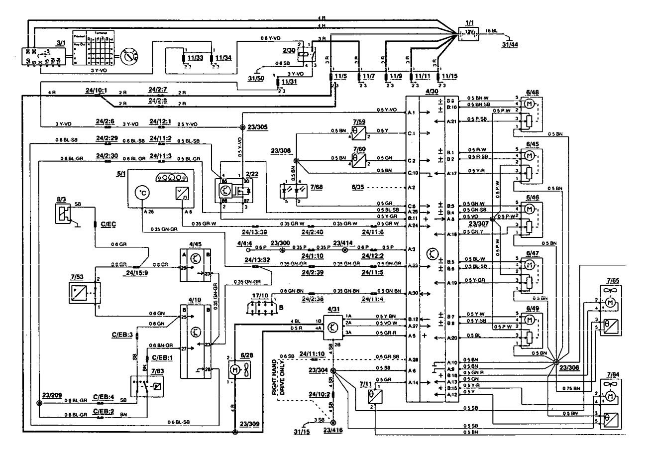 DIAGRAM] 92 Volvo 850 Glt Wiring Diagrams FULL Version HD Quality Wiring  Diagrams - SCHEMAWIZ.HOSTERIA87.IT | Volvo 850 Pnp Wiring Diagram |  | Hosteria 87