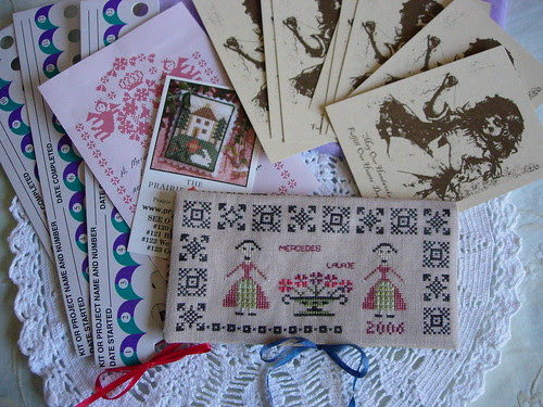 Lady Sampler Exchange de Laurie