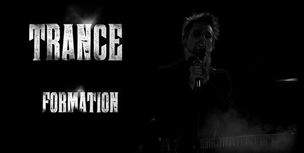 """O vídeo letras nos diz que """"eis a minha transformação"""" é na verdade Trance Formation, que é uma referência para a Formação livro Trance da América por Cathy O'Brian."""