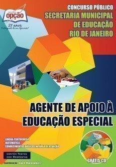 Apostila concurso SME RJ Agente de Apoio À Educação Especial.