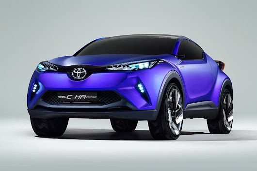 Toyota C-HR Concept crossover revealed - Motoring Research