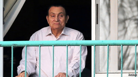 The dictator walks: Hosni Mubarak, Egypt's ex-president, is set free | The Economist