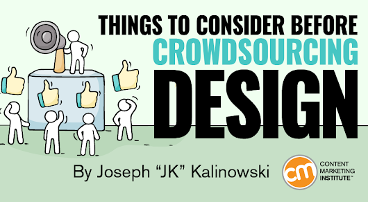 Things to Consider Before Crowdsourcing Design