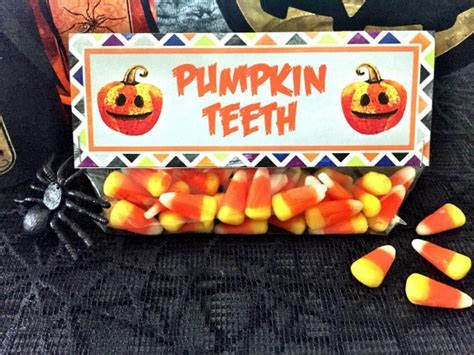Free Halloween Treat Bag Toppers   Pretty My Party
