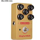aural dream digital wah effect pedal aluminum alloy shell true bypass electric guitar pedals
