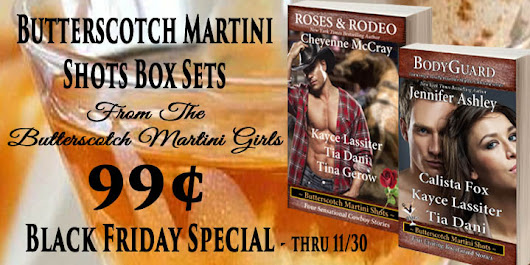 Butterscotch Martini Shots on SALE!!!