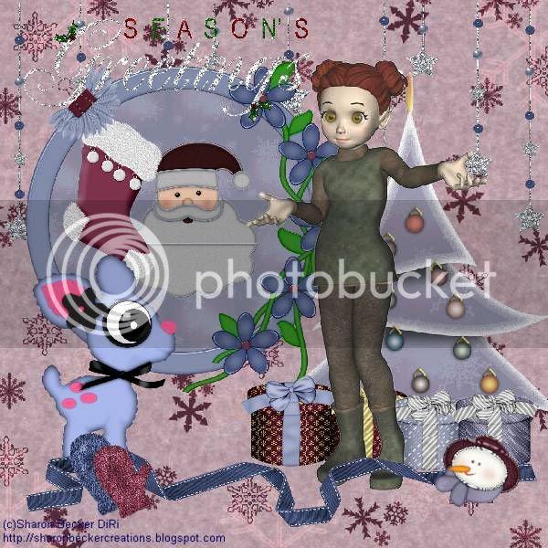 Elves,Santa,Reindeer,Snowman,Winter,Happy Holidays,Kids Tags