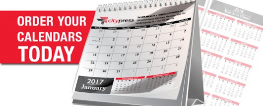 Fully Customizable Calendars –  Citypress | Winnipeg Printing | We Treat Your Colour Right