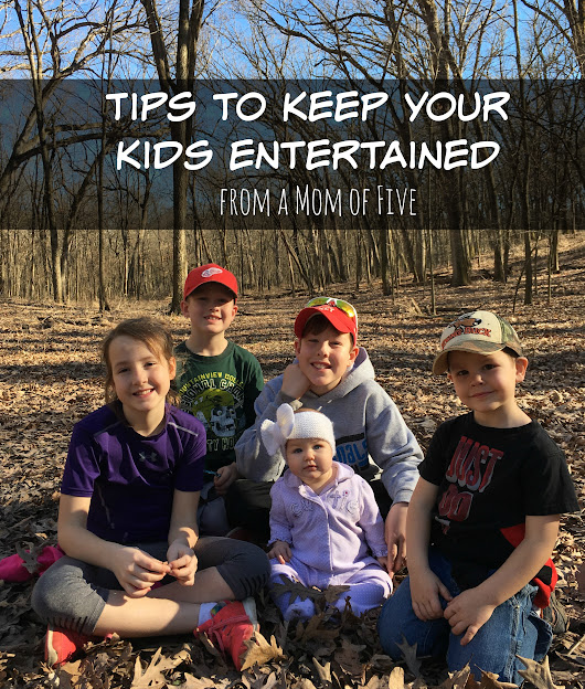 Tips to Keep your Kids Entertained - momma in flip flops