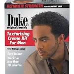 Duke Texturizing Creme Kit for Men, Ultimate Strength for Resistant Hair/Original Formula
