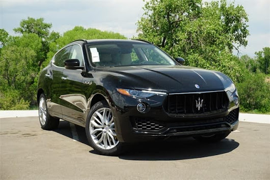 Maserati Levante filled with innovative safety features