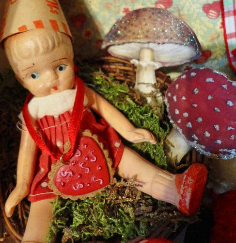 doll in nest