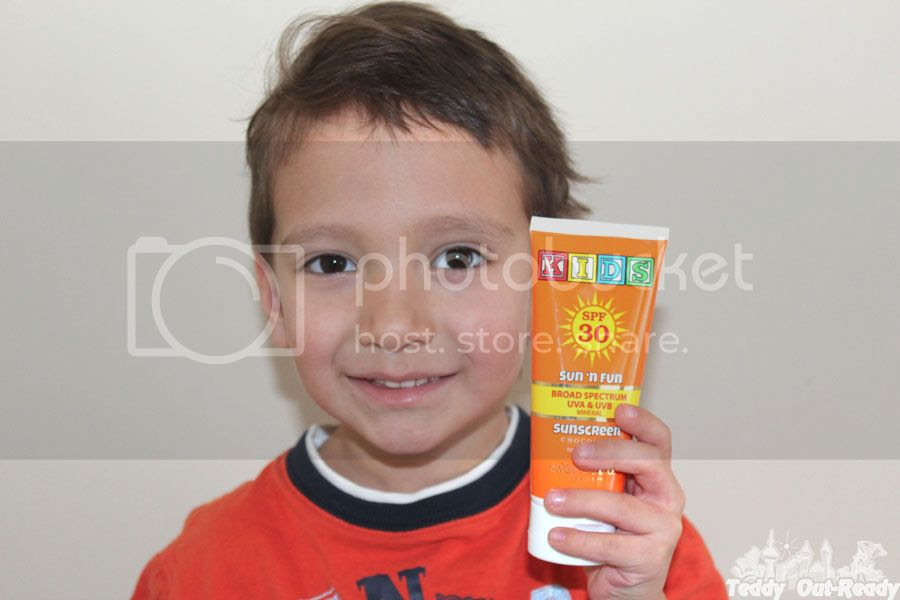 Sun'n'Fun Broad Spectrum SPF30 Sunscreen for Kids