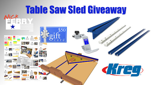 » Table Saw Sled Giveaway