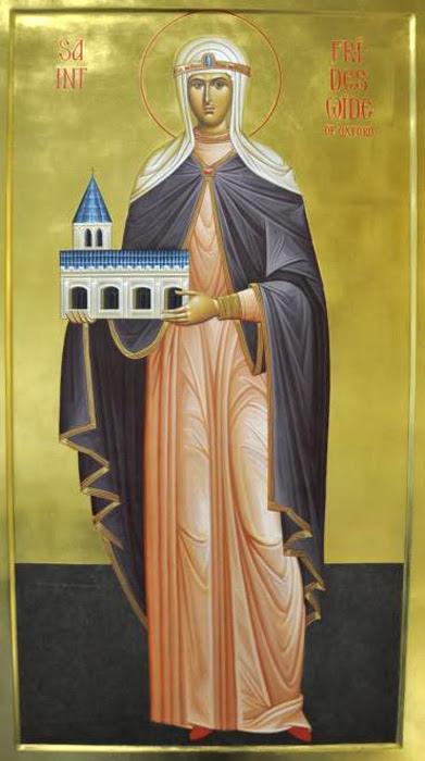 IMG ST. FRIDESWIDE: Oxford's patron saint