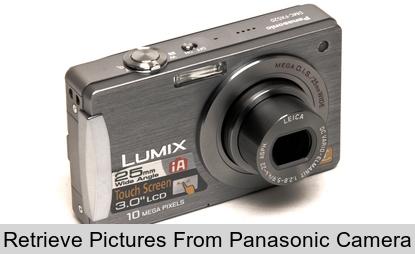 Récupérer Des Images Perdues De Lappareil Photo Panasonic