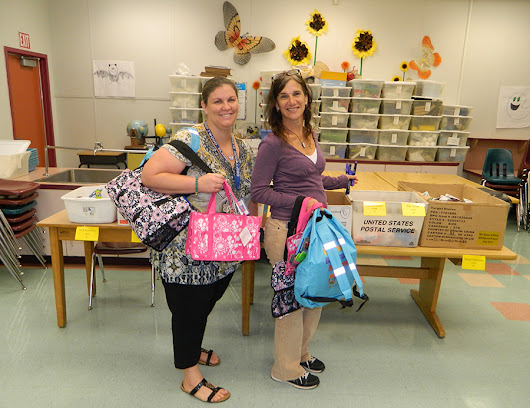 "Tools for Schools Broward ""School Supplies on the Move"" Mobile Unit Visits Driftwood Elementary 