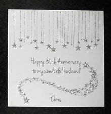STUNNING Personalised on Our Pearl Wedding Anniversary