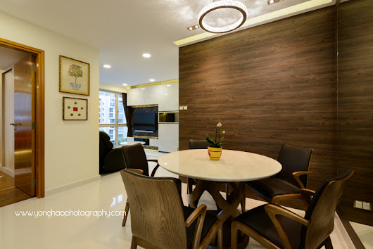 Interior Photography of Residential unit at Gardenvista for Sky Design & Renovation