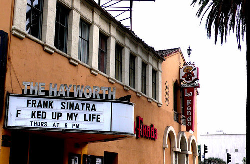 be thankful you were on frank sinatra's good side.