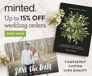 Minted Wedding Products