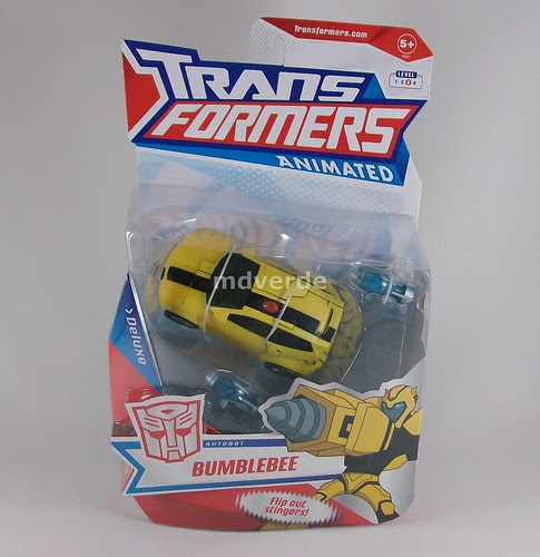 Transformers Bumblebee Animated Deluxe - caja