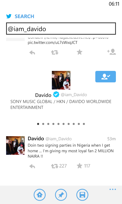Davido To Give N2Million To Most Loyal Fan (snapchat)