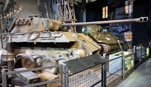 Panther Ausf A Tank Overlord Museum Colleville-sur-Mer Normandy 1944 D-Day