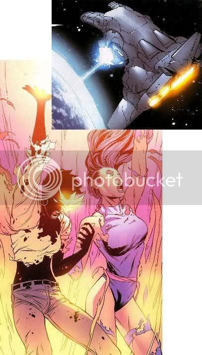 Esforço da Garota Marvel e Psylocke