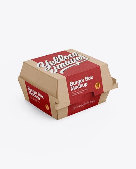 Download Burger Box Mockup Free Download - Free Download Mockup