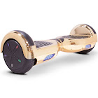 MotoTec Self Balancing Hoverboard Scooter 24V 6.5in Gold Chrome